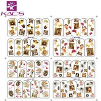 BOP001-004/Set (4 sheet IN 1).Water decal Nail Stickers Angel design nail sticker For nail decals tool for nail water