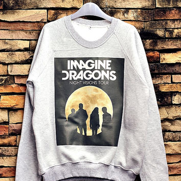 Imagine Dragons Sweatshirt Crewneck Sweater Unisex