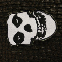 Misfits Skull Iron on Patch