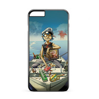 D2 Gorillaz Boat iPhone 6 Plus Case