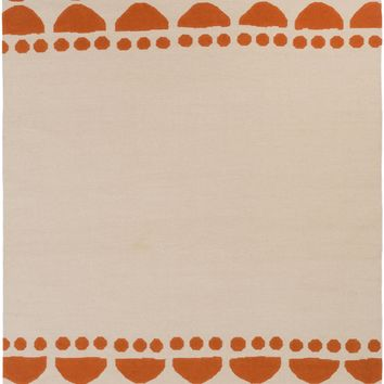 Surya Textila Geometric Orange TXT-3019 Area Rug