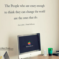 Surface Collective's Wall Tattoos / Wall Decals / Laptop Decals - Product - Think Different