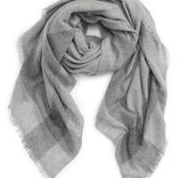 Tory Burch Check Wool & Cashmere Scarf | Nordstrom
