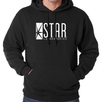 fashion brand clothing STAR S.T.A.R. labs Men Hoodies Sweatshirts 2016 autumn winter warm fleece high quality hooded men S-2XL