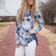 Into The Wild Blue Top, Navy