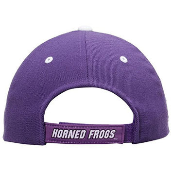 Top of the World NCAA-Triple Conference-Adjustable Hat Cap-Big 12 Conference-TCU Horned Frogs