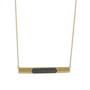 House of Harlow 1960 Jewelry Modern Revival Bar Necklace