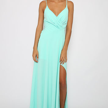Sweet Rebellion Dress - Mint