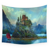 Society6 Journey's End Wall Tapestry