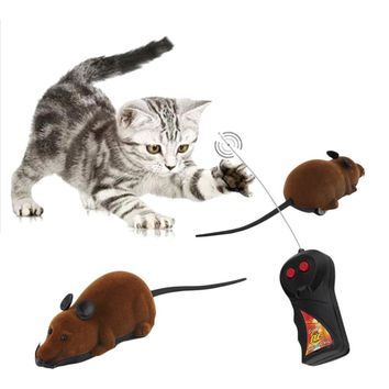 Brand New Scary Remote Control Simulation Plush Mouse Mice Kids Toys Gift for Cat