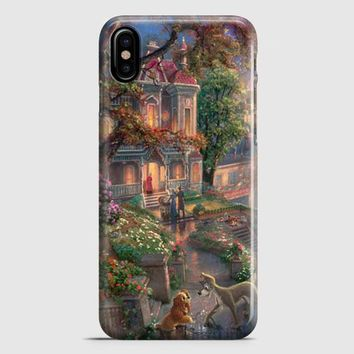 Lady And The Tramp Disney iPhone X Case | casescraft