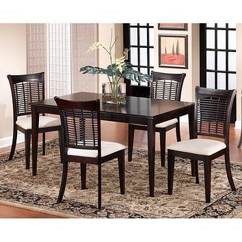 4783 Bayberry Rectangle Dining Set - Dark Cherry - Free Shipping!