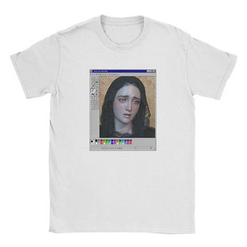 Vaporwave Crying Virgin Shirt