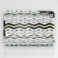 TRIBAL CHEVRON iPad Case by Nika