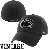 47 Brand Penn State Nittany Lions Vault Franchise Fitted Hat - Navy Blue
