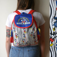Vintage Mickey Mouse Backpack