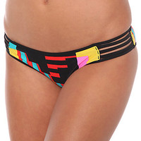 Volcom The Block Box Retro Bikini Bottom in Multi : Karmaloop.com - Global Concrete Culture