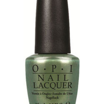 OPI Nail Lacquer - Visions of Georgia Green 0.5 oz - #NLC93