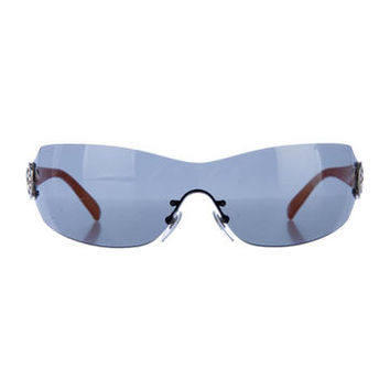 Bvlgari Shield Sunglasses