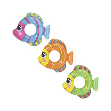 Inflatable New Shape Fish Swimming Ring For Kids Swim Toys For Pool Water Fun Floats Buoy Raft Boia Piscina