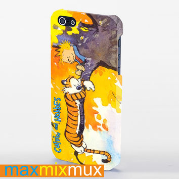 Calvin And Hobbes  iPhone 4/4S, 5/5S, 5C Series Full Wrap Case