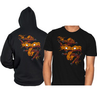 Michaelangelo mask and weapon Michaelangelo tmnt Michaelangelo teenage mutant ninja turtles hoodie and shirt