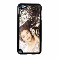 Selena Gomez Glitter iPod Touch 5th Generation Case
