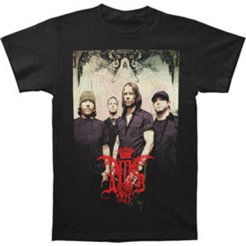 Alter Bridge Men's  Band Photo T-shirt Black