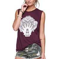 Workshop Far East Muscle Tee at PacSun.com
