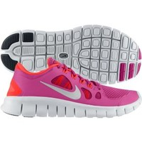 Nike Girls' Grade School Free 5.0 Running Shoe - Pink/Orange | DICK'S Sporting Goods