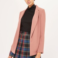 Soft Chuck On Blazer | Topshop