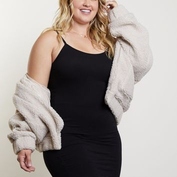 Plus Size Cami Bodycon Dress