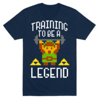 Training To Be A Legend (Zelda) T-Shirt