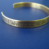 Belle Bracelet - Beauty and the Beast - I want adventure in the great wide somewhere