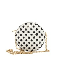Dolce & Gabbana Glam Circle Bag - Polka Dot Chain Strap Bag - ShopBAZAAR