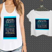 harry potter quote sirius For Woman Tank Top , Man Tank Top / Crop Shirt, Sexy Shirt,Cropped Shirt,Crop Tshirt Women,Crop Shirt Women S, M, L, XL, 2XL**