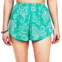 Filigree Chiffon Shorts