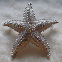 MONET 1960s-70s Starfish Pin