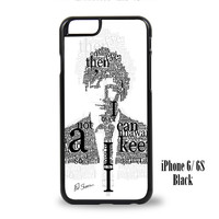 Ed Sheeran iPhone 6, iPhone 6s, iPhone 6 Plus, iPhone 6s Plus Case