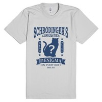 Schrodinger's Cat Vintage Quantum Mechanics Theory