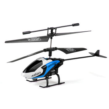 New Mini Drone S126 2CH IR RC Remote Controller Helicopter Kids Gift Boy Toy Free Shipping Blue