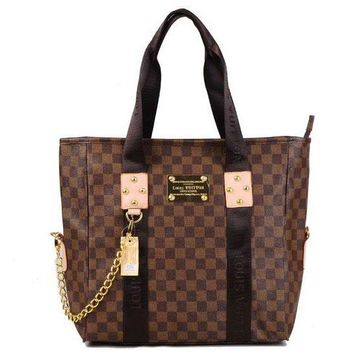 Louis Vuitton LV Women Fashion Leather Tote Satchel Handbag Shoulder Bag