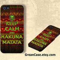 Hakuna Matata iPhone Case , Tribal iPhone Case , Aztec iPhone Case : iPhone 4/4s Case , iPhone 5 Case , Galaxy S3 Case , Galaxy S4 Case