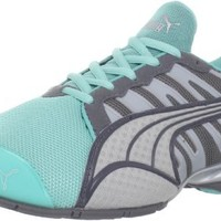 PUMA Women's Voltaic 3 NM Running Shoe, Blue/Steel/Quarry/Silver, 9.5 B US
