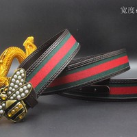 Gucci Belt Men Women Fashion Belts 538088