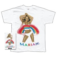 Mariah Carey - Rainbow Album T-Shirt - Fanshake