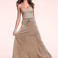 Tie-waist Maxi Dress - Victoria's Secret