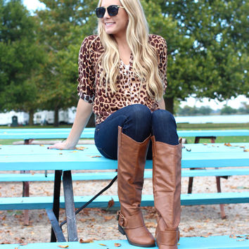 On the Hunt Blouse