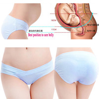 Low Price Women Maternity Panties Pregnant Lingerie Low Rise Underwear Clothing