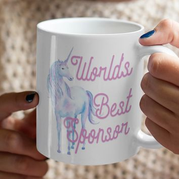 World's Best Sponsor Coffee Mug